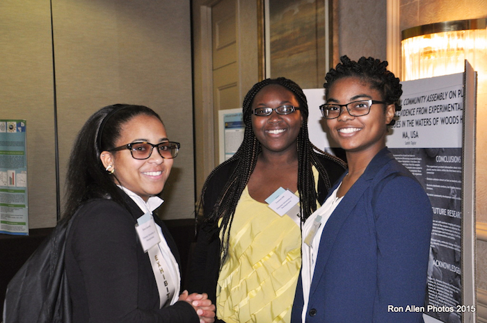 Drexel students at the Symposium