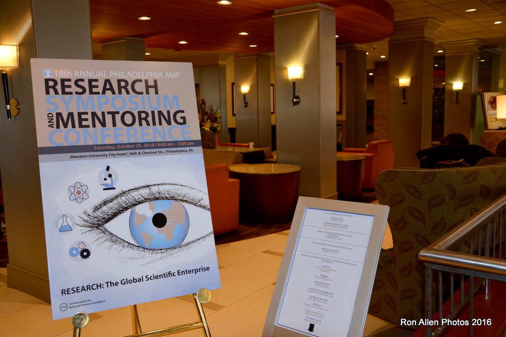 2016 Research Symposium sign